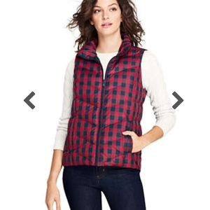 NEW with Tags Lands' End Puffer Vest
